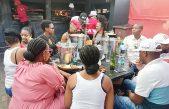 Chilling out at Bafokeng Corner